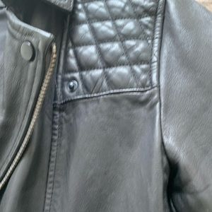 All Saints Jackets & Coats - All Saints Leather Conroy Jacket Size Small